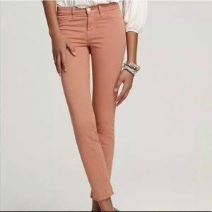J BRAND Tigers Eye Denim Super Skinny Jeans